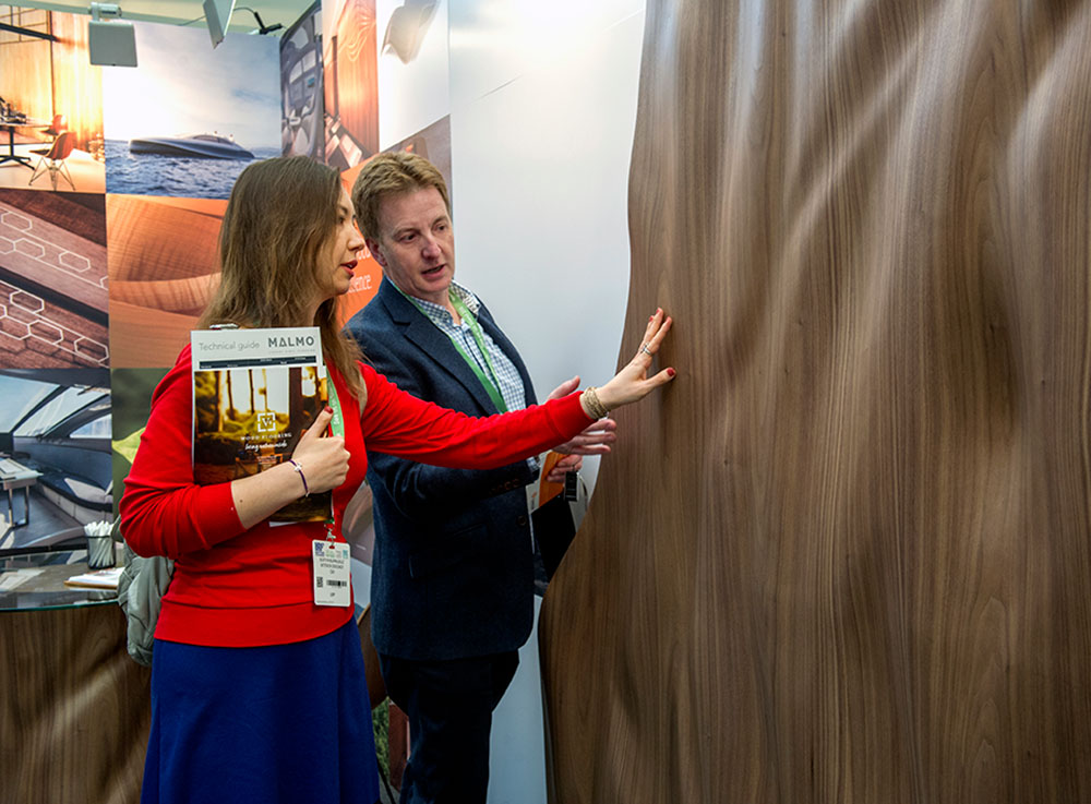 February 14, 2018   Innovative Wood Surfaces for Architecture and Design