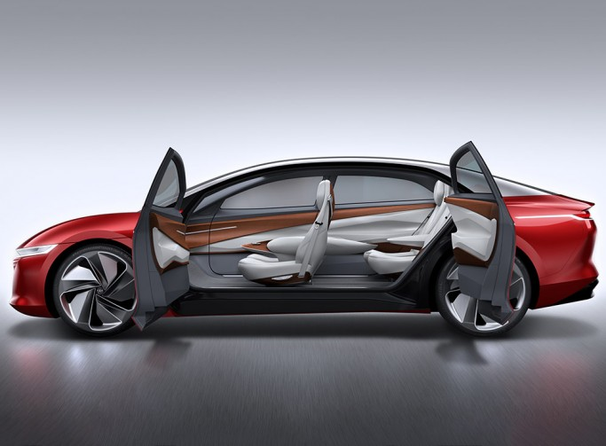 VW's All-Electric I.D. Vizzion