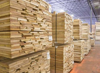 The Danzer lumber production grew by 20 % in 2016.