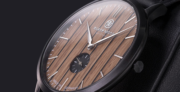 Useful and beautiful – watches with fine wood