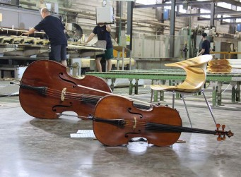 Many instruments are made from wood, because of the superior characteristics of the material.