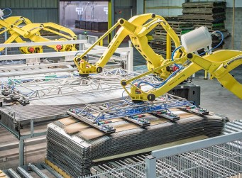 The capacity addition in France increased Danzer's production capacity by 20,000 m³ - The new production line is heavily automated and uses 6 robots.
