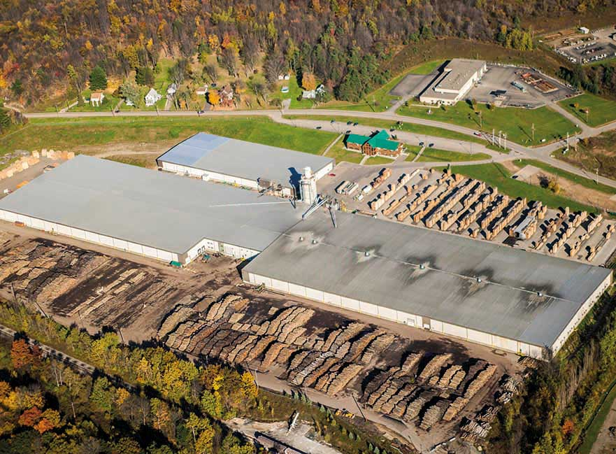 Bradford Forest, Inc. was renamed Danzer Lumber North America, Inc. on January 1st, 2018.  The production facility in Bradford, PA is one of the tenth largest hardwood sawmills in North America.