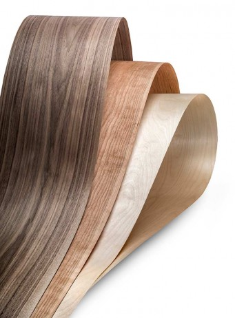 American Walnut, American Black Cherry and Birch are among Danzer's standard veneer products.