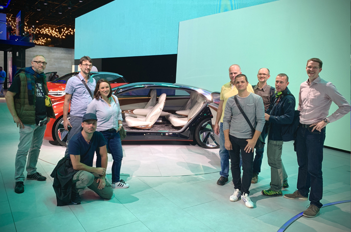 Seven in one – Custom Solutions at IAA