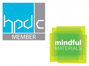HPD and mindful MATERIALS logo