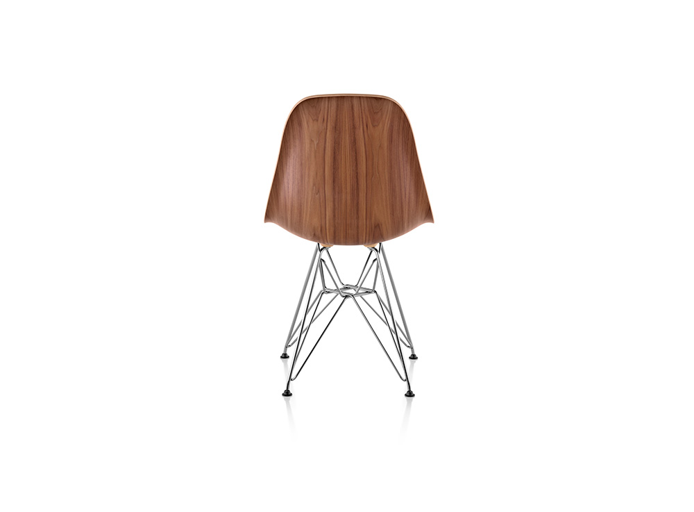Eames molded wood side chair for Eames schalenstuhl