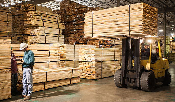 Lumber from North America
